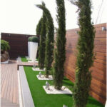 It is surprising the change that a lawn can give to a patio or garden, gives it ...