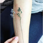 Tattoo Artist Uses Real Nature in Designs
