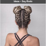 Tutorials for braids and beautiful ideas - Soy Moda