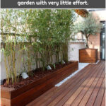 Wooden planters, redecorate your garden with very little effort.
