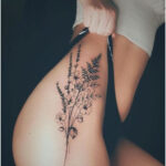 Bouquet of flowers by Valery Tattoo - Tattoos for Women