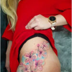 Cherry blossoms by Simona Blanar - Tattoos for Women