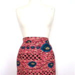 Items similar to African Print Tailored Tulip Skirt on Etsy