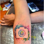 Photo Camera by Javi Wolf - Tattoos for Women