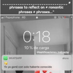 """IND️INDIRECTA⚡️ on Instagram: """"I do not regret seeing you known☺️ ....... ______________________________ # phrases to reflect on # romantic phrases # phrases…"""""""