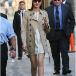 Gorgeous Gal Gadot stuns at Jimmy Kimmel appearance in Hollywood