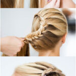 Tutorial: How to create a braid bun. Perfect hairstyle for your summer vacay! Wa...