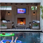 33 Ideas for decorating a patio with a pool