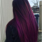 Check out these purple ombre hair styles for a playful look this summer, if you ...