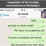 Compilation of the funniest conversations on WhatsApp  