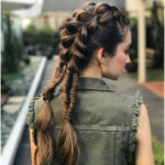 37 Trendy Hairstyles with Braids for Long Hair Girls