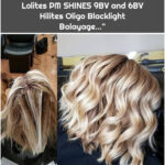 """Amy on Instagram: """"Application and After. Root retouch Paul Mitchell The Color 8PN and 7PN. Lolites PM SHINES 9BV and 6BV Hilites Oligo Blacklight Balayage…"""""""
