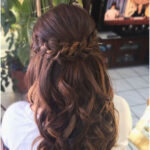 Half up style by Irene O'Brien. #Brids and #Curls #BridalHair #Bridesmaids # Ha ... - Hairstyle For Everyone