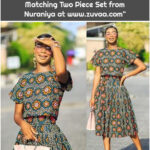 """Zuvaa Marketplace on Instagram: """"She is the light ☀️ Shop the Matching Two Piece Set from Nuraniya at www.zuvaa.com"""""""