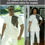 African Couples clothing, Dashiki for couples, African Wedding suit,African attire for couples.