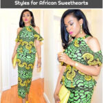 Glamorous Ankara Skirt and Blouse Styles for African Sweethearts