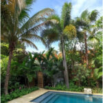 Tropical Swimming Pool With Palm Trees : Best Swimming Pool Landscaping Plants