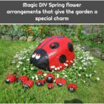 Magic DIY Spring flower arrangements that give the garden a special charm