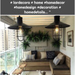 """Lardecora on Instagram: """"A balcony to relax and get inspired. Project @larissacatossiarquitectura # lardecora # home #homedecor #homedesign #decoration # homedetails… """""""