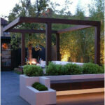 Separate outdoor spaces