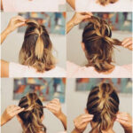 +30 Hairstyles for short hair tutorials and the latest trends