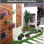 ▷ Ideas for small patios. Decoration of small gardens.