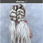 """Braids & Bridal on Instagram: """"#braids by #taylorlambhair 💗 PLUS--> Want that PERFECT beachy texture I did for these ponytails?! Make sure to pick up @biolage #liveraw…"""""""